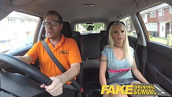Barbie cartoon nude - Fake driving school barbie earns her pass with a huge facial