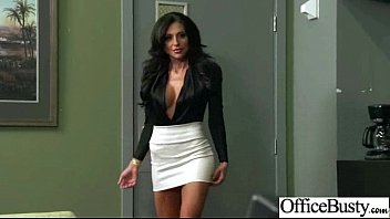 (jaclyn taylor) Slut Office Girl With Round Big Boobs Love Sex movie-15