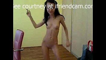 Petite slut Destiny dances for the camera -- ifriendcam.com