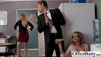 Slut Girl (Jessa Rhodes) With Round Huge Tits Get Nailed In Office vid-12 7分钟