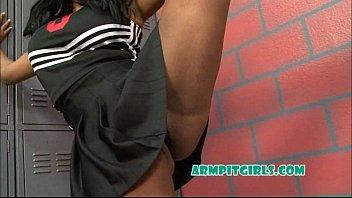 Cheerleader Armpit Fetish Asian Gangbang With Kymora Lee