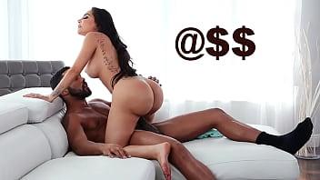 BANGBROS - Big Black Cock Ejaculates Deep Inside Lela Star's Latina Pussy