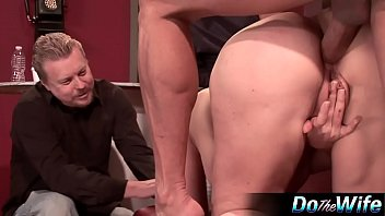 Wife gets analed in front of husband 9 min
