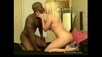 Blonde Loves Interracial Sex