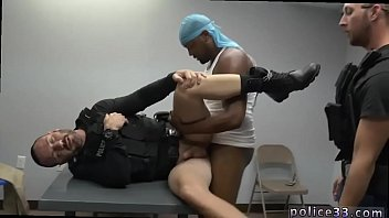 Gay porn cops fuck Prostitution Sting