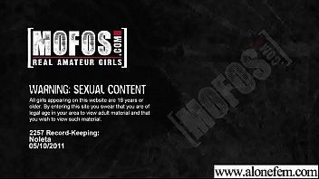 (noleta2) Gorgeous Alone Girl Masturbates On Tape clip-12