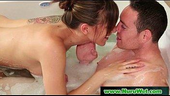 Big tits lesbians slippery sex 05