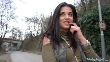 Public Agent Outdoor orgasms for Serbian beauty porno izle