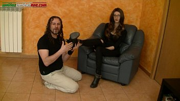 Interview To Anna - Foot Licking And Boots Trample