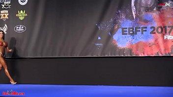 2017 European Championships BIKINI 162cm FINAL 8分钟