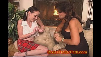 Lesbian Mom teaches DAUGHTER