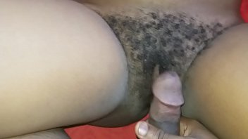 Fucking my playmate with a hairy. Pussy