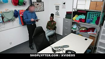 ShopLyfter - Pretty Black Girl (Anne Amari) Caught Stealing Gets Creampied By Security