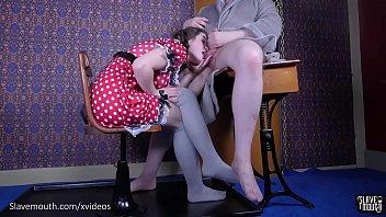 18 year-old rimjob slave (Anastasia Rose)