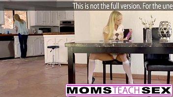 Moms Teach Sex - Big Breast Mom Captures Daughter