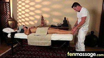 Deepthroat Blowjob From Big Tits Massage Girl 7