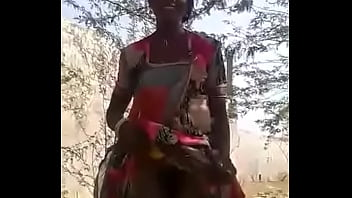My Indian Rajasthani Girlfriend Boob press and pussy show