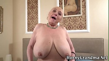 Busty granny gets eaten out pussy creampied thumbnail