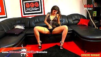 Adreena Winters Casting Tape Masturbation - Extreme Bukkake