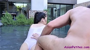 Asian Oiled Slut Makes The Most Of Daddy's Cock- Jade Kush