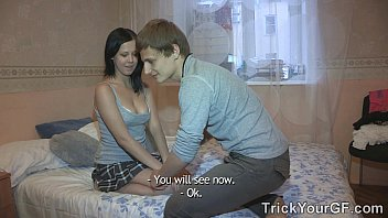 Trick Your Gf - Don't Fall In Love, Teen-Porn Slut Evelyn Cage!