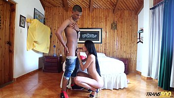 Latin shemale picture galleries - Room service suprise iii