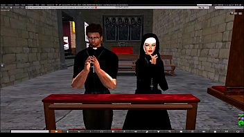 SecondLife Preacher and Megan Fox