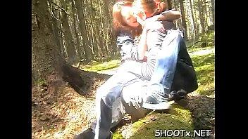 Dilettante teenager lets her boyfriend fill her fresh love tunnel