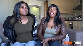 2 Black Lesbian Babes Eating Each Other's Pussy