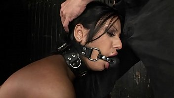 Gorgeous arab girl Kyra Black, deserves bound orgasms. The full BDSM movie. Hardcore bondage sex. 68 min