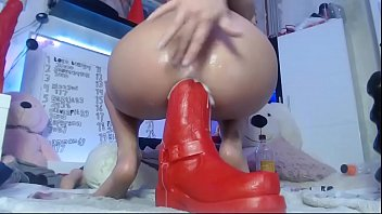 Siswetlive.com *** My Favorite Big Sex Toys Deep In My Ass