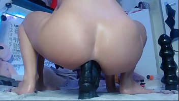 Siswetlive.com *** My Favorite Big Sex Toys Deep in My Ass 11 min