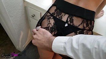 Brunette POV Blowjob and Passionate Fuck Huge Cock Lover - Cumshot 11 min