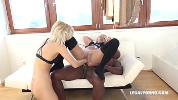 Ria Sunn & Caroline De Jaie - whore games, fisting buffet & double anal Part-1