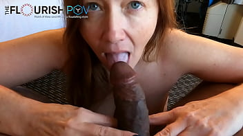 Redhead Cougar Gypsy MILF POV Blowjob