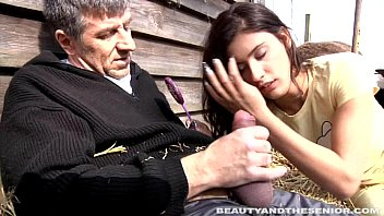 Pierced Teen Gets Fucked And Facialized By An Old Dude thumbnail
