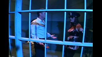 Police uniform sex videos free Brunette in uniform fucking in latex lingerie