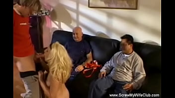 Sex With The New Lywed Swinger Until The Cock Cum Again