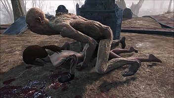 Fallout 4 Ghoul cemetery