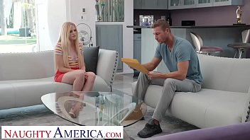 Naughty America - Nikki Sweet fucks in order to get the babysitting job