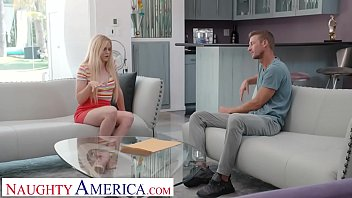 Naughty America - Nikki Sweet fucks in order to get the babysitting job 13 min