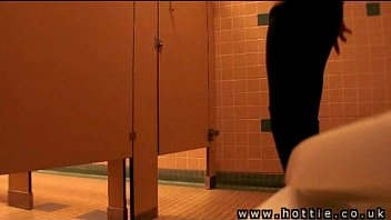 Uk amateurs videos Public toilet flasher