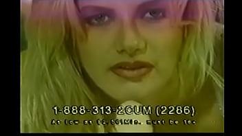 Classic Blonde Masturbation Phone Ad