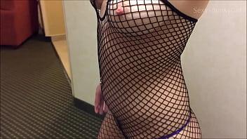 Oops! Wrong Hotel Room! Hot Blonde Fucks & Sucks A Stranger