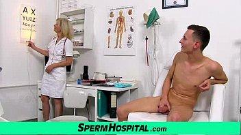 Uniform mom with boy cum on tits feat. milf Ivona Vorschaubild