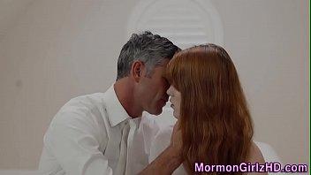 Mormon Teen Gets Jizzed