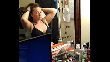 Pawg slut Wife getting ready for BBC gangbang