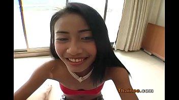Little 72 lb Asian girl knocked up