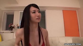 Japanese Bikini Model Yuuki Fuwari Did Some Light Porn Uncensored