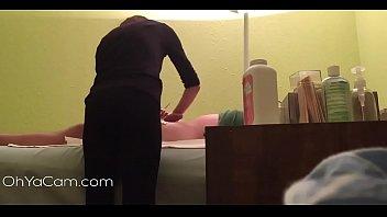 Massage Parlour Hidden Cam